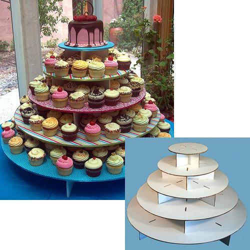 wedding cupcake stand for 100 cupcakes
