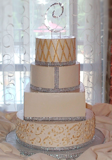 Emejing Bling Out Wedding Cakes Gallery - Styles & Ideas 2018 ...
