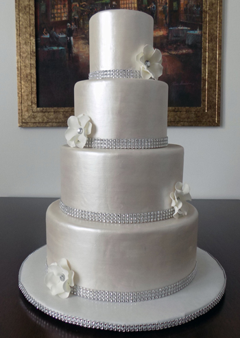 Fondant Wedding Cakes York PA. Exquisite Wedding Cakes delivers ...